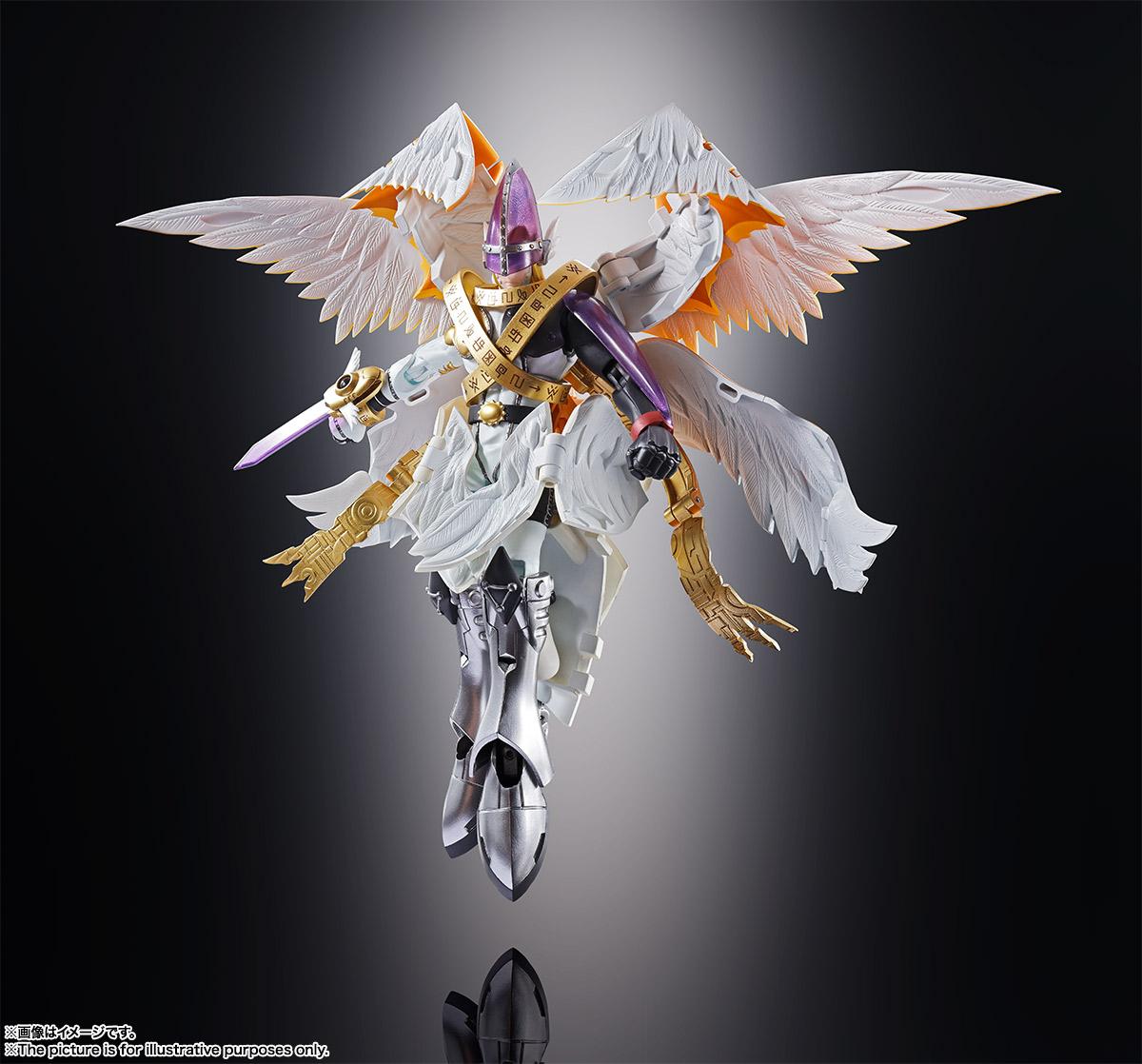 万代 超进化魂07 数码宝贝 神圣天使兽