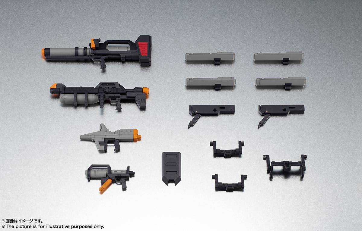 预订 万代 ROBOT魂 <SIDE MS>联邦军武器套装 ver. A.N.I.M.E.