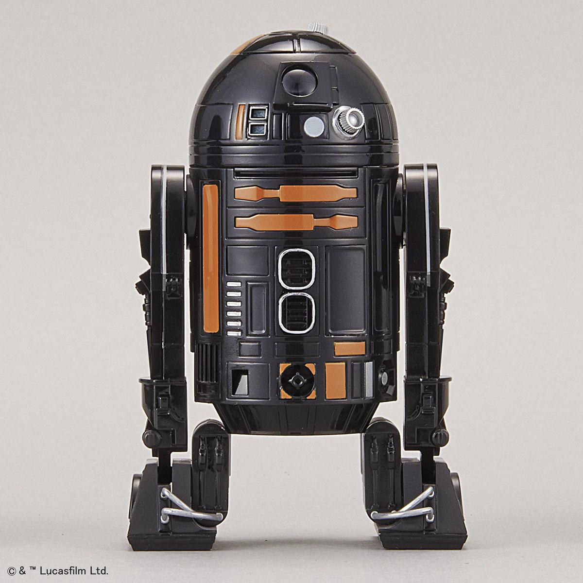 万代 星球大战 1比12 R2-Q5--
