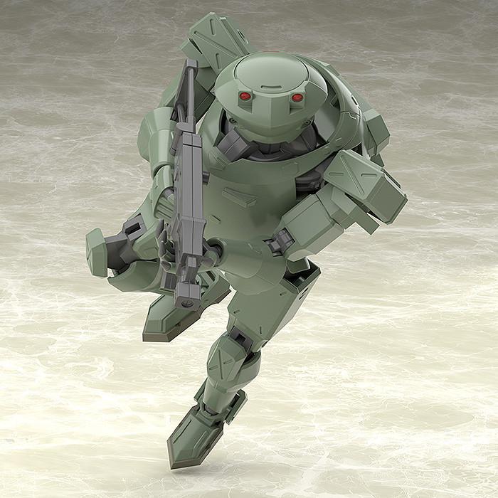 GSC MODEROID 全金属狂潮 Rk-91/92 野蛮人 (OLIVE)--2130