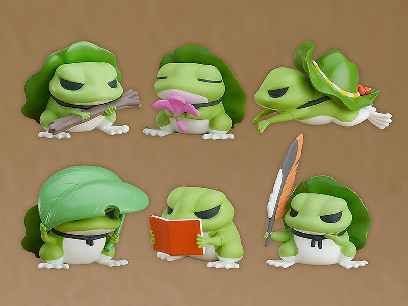 预订 GSC 盒蛋 旅行青蛙 收藏系列模型
